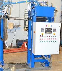 v-belt sleeve cutting machine